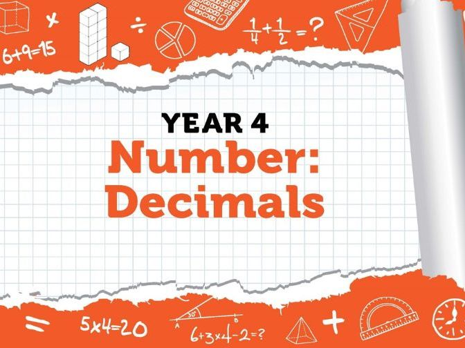 Year 4 - Number - Decimals - Week 11 - Spring - Block 4 - White Rose