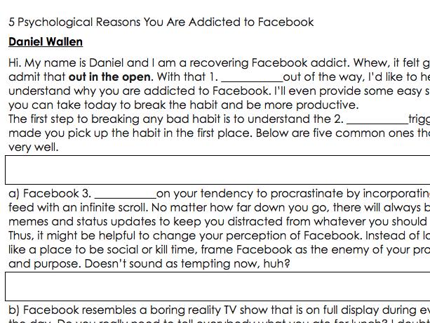 Facebook Addicts