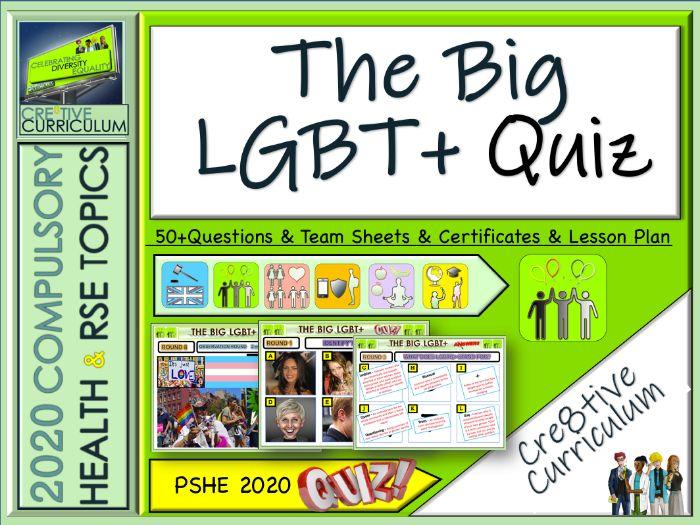 London Pride End of Term Quiz