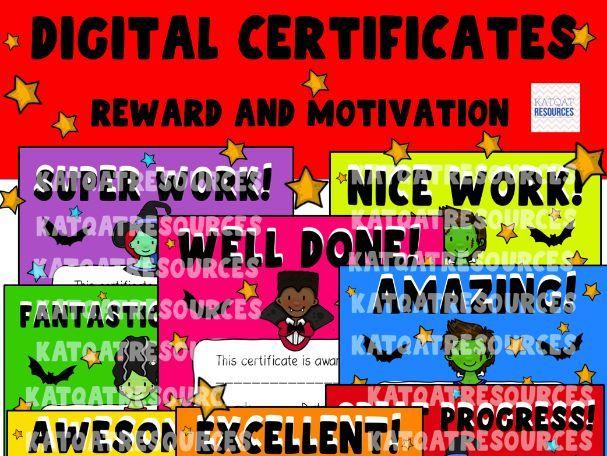 Halloween Digital Certificates