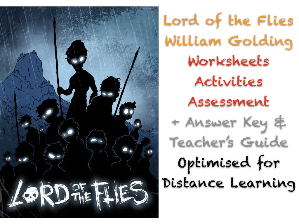 Lord of the Flies (Golding) Complete NO PREP TEACH BUNDLE ACTIVITIES + ANSWERS