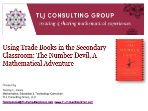 Using Trade Books in the Secondary CR: The Number Devil, A Mathematical Adventure