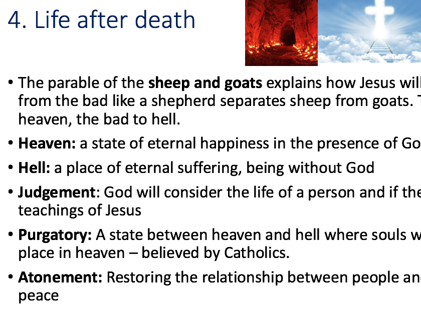 Revision for GCSE Religious Studies OCR Paper One Christianity & Islam Beliefs