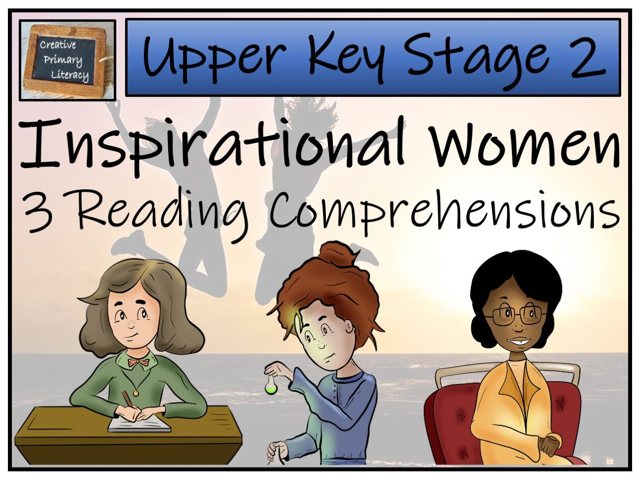 UKS2 Inspirational Women Reading Comprehension Bundle
