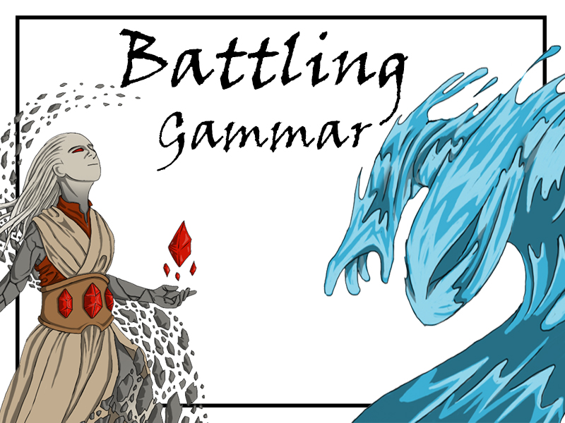 Exciting Grammar card game - the whole collection