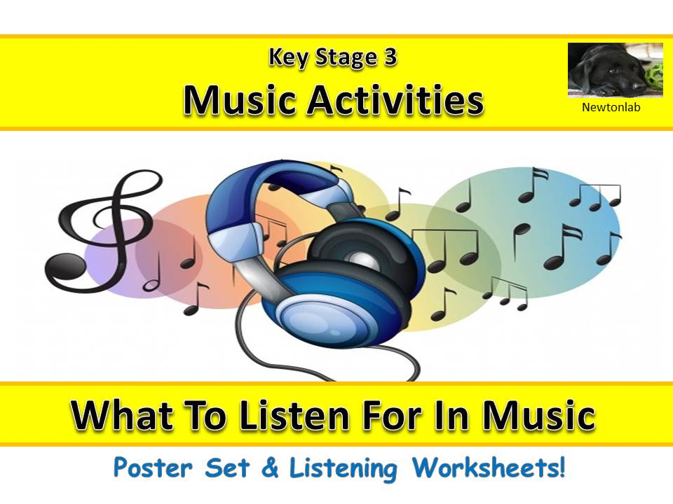 What To Listen For In Music - Key Stage 3