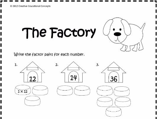 Factors or Multiples