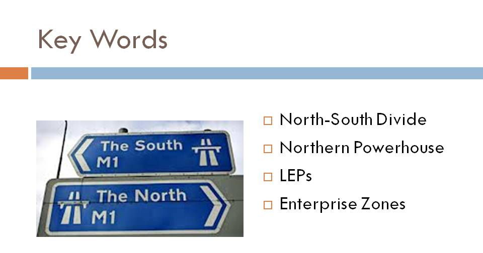 The Nort-South Divide