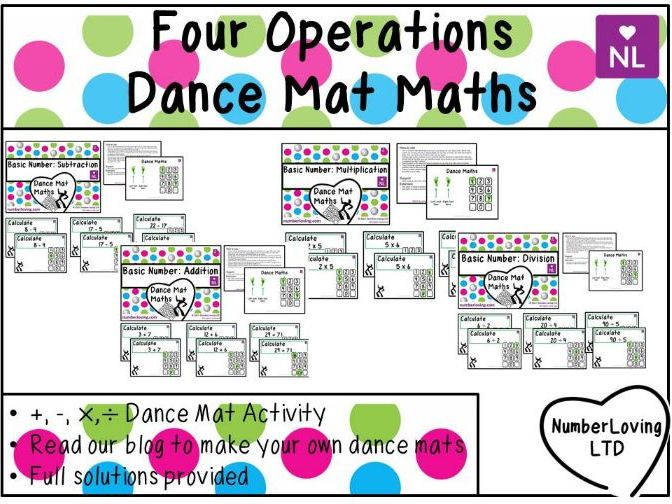 Four Operations (Dance Mat)