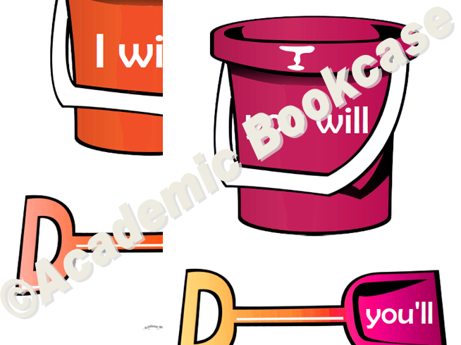 Contraction apostrophe - buckets and spades matching