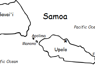 SAMOA - Introductory Geography Worksheet