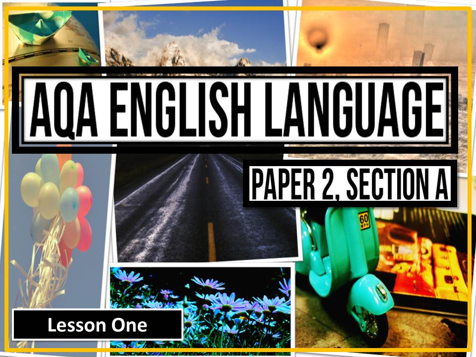 AQA English Language, Paper 2 Section A: Nonfiction Reading
