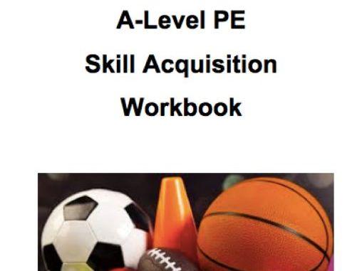 A-Level PE (OCR): Skill Acquisition Workbook