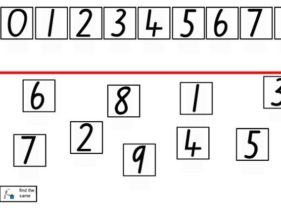 Numeration 0 -9: Activities to develop understanding of numbers from 0 to 9