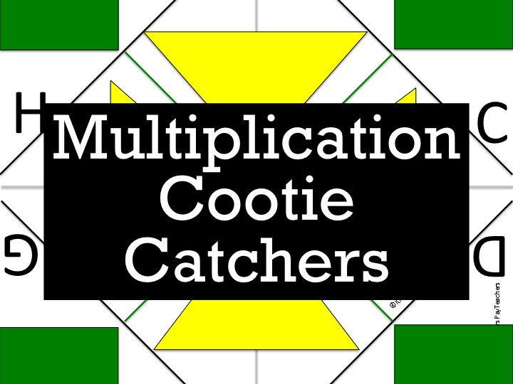 Multiplication Cootie Catcher