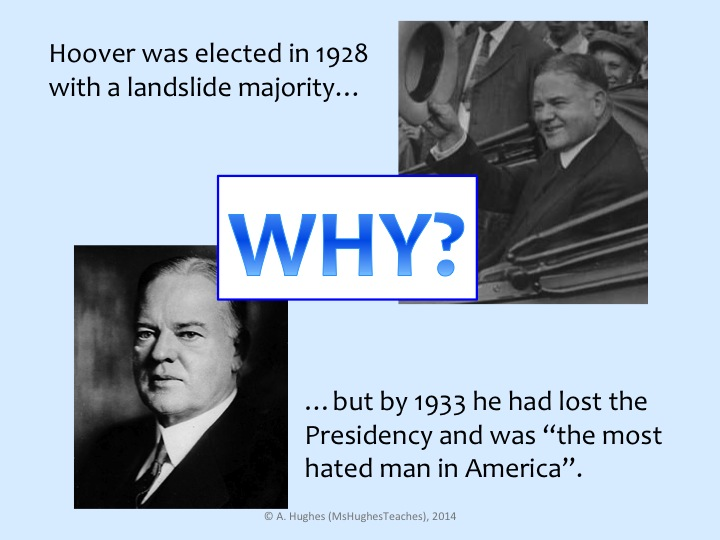Does President Hoover deserve to be so unpopular?