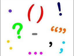 Starter activity -Question and exclamation marks.