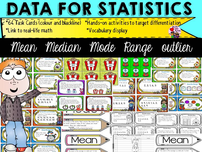 mean median mode in statistics pdf