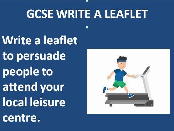 Leaflet: Leisure Centre
