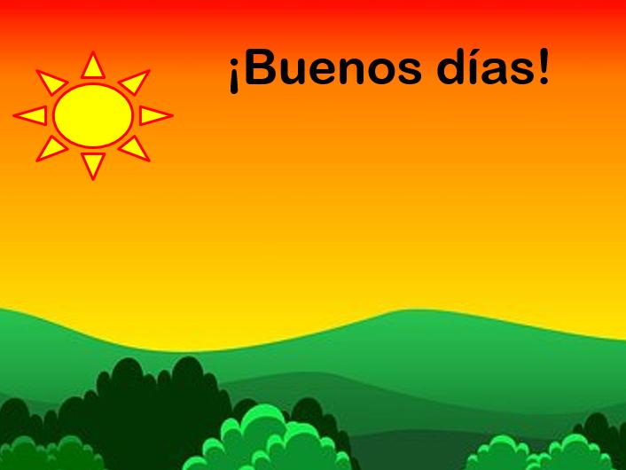 Los saludos y qué tal? Spanish greetings and responses.