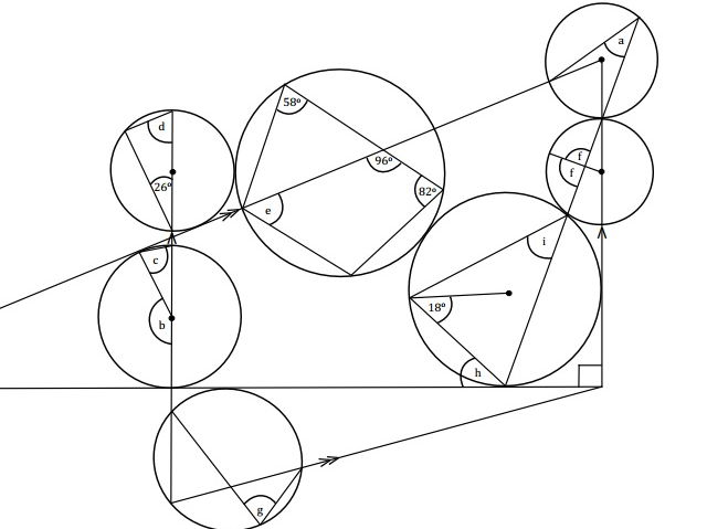 Circle Theorems Revision Exercise #1