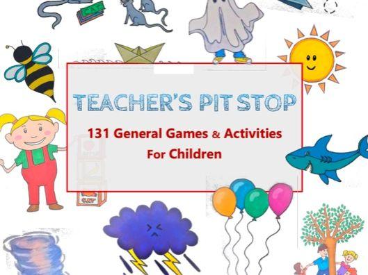 131 General Games & Activities for Children