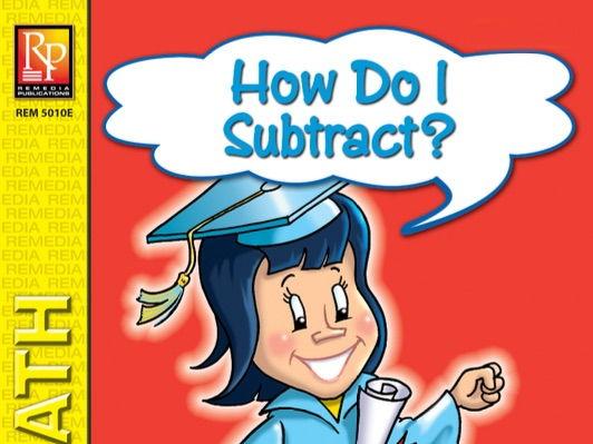 How Do I Subtract? Beginning Subtracting Activities