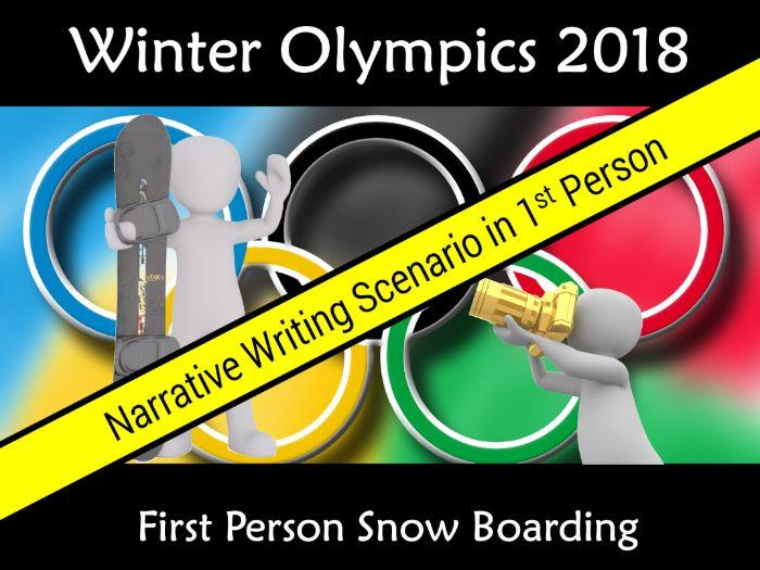 Winter Olympic Games South Korea PyeongChan 2018 Narrative Writing Scenario