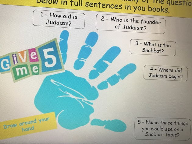 KS3 Differences in Judaism - Lesson 2