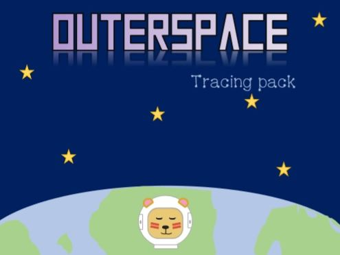 Outerspace tracing pack