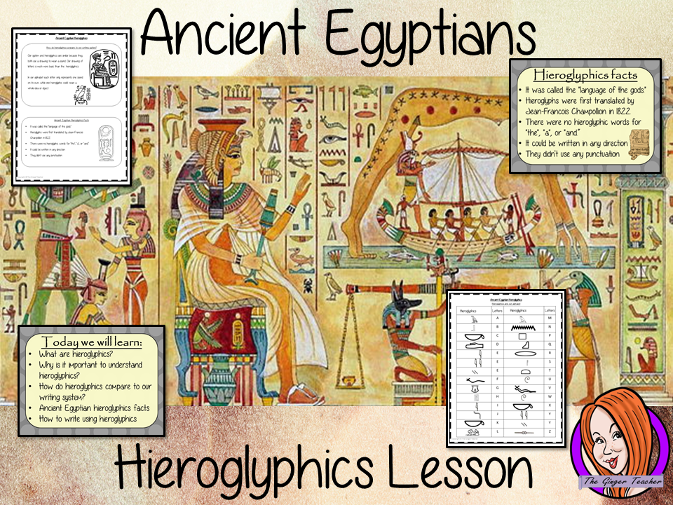 Ancient Egyptian Hieroglyphics - Complete History Lesson