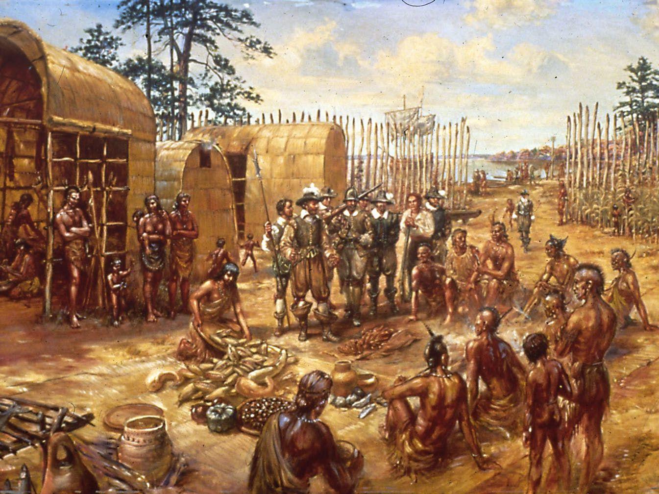 Colonisation of Jamestown
