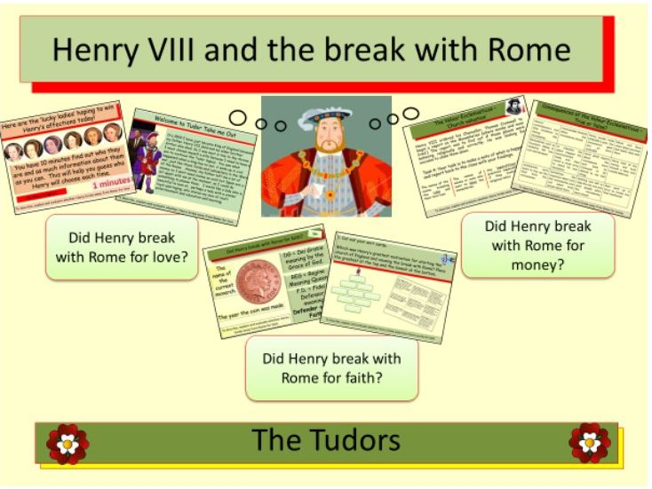 The Tudors: Henry VIII and the break with Rome Bundle