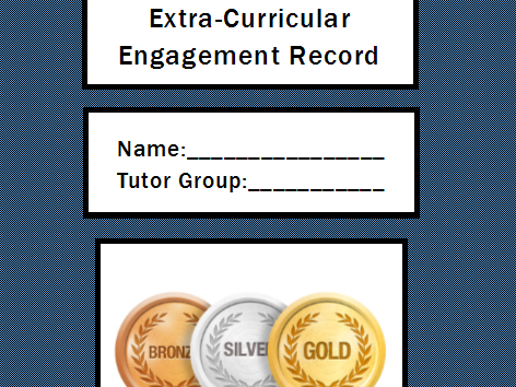 Y11 Extra-Curricular Revision Session Rewards Scheme