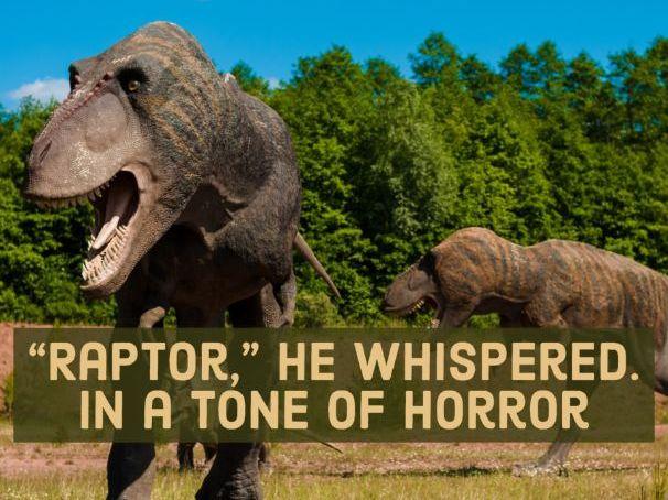 AQA Language Paper 1: Jurassic Park
