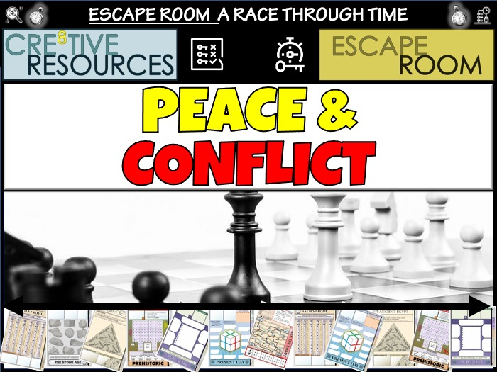 Peace and Conflict Escape Room