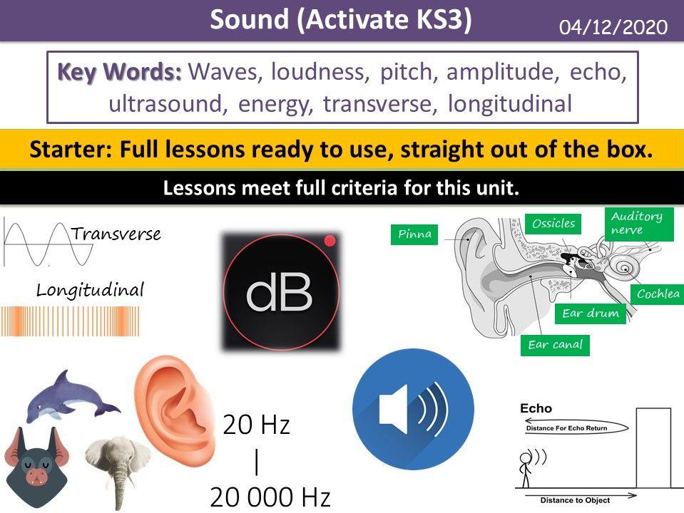 Sound (Activate KS3)