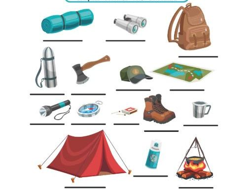 Let's talk about CAMPING!