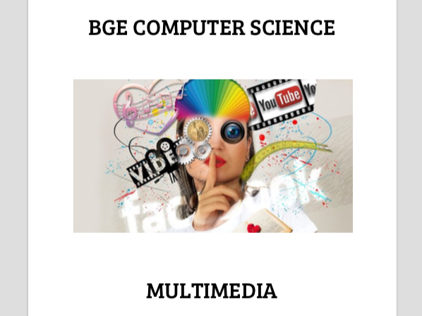 BGE Computer Science: Multimedia