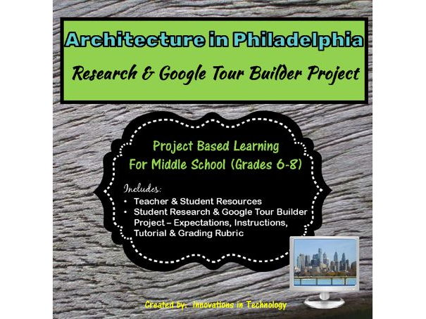 Google Tour Builder - Explore Architectural Landmarks in Philadelphia