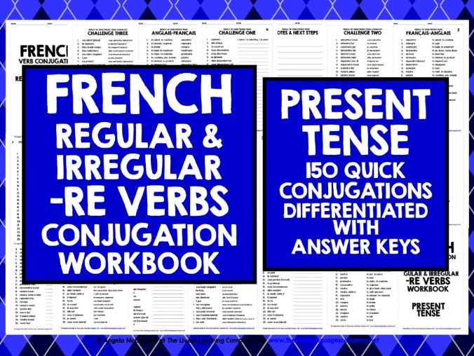 FRENCH VERBS: FRENCH -RE VERBS 1