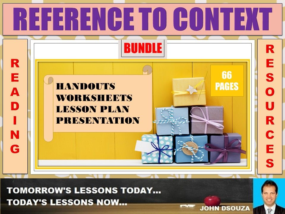 REFERENCE TO CONTEXT BUNDLE