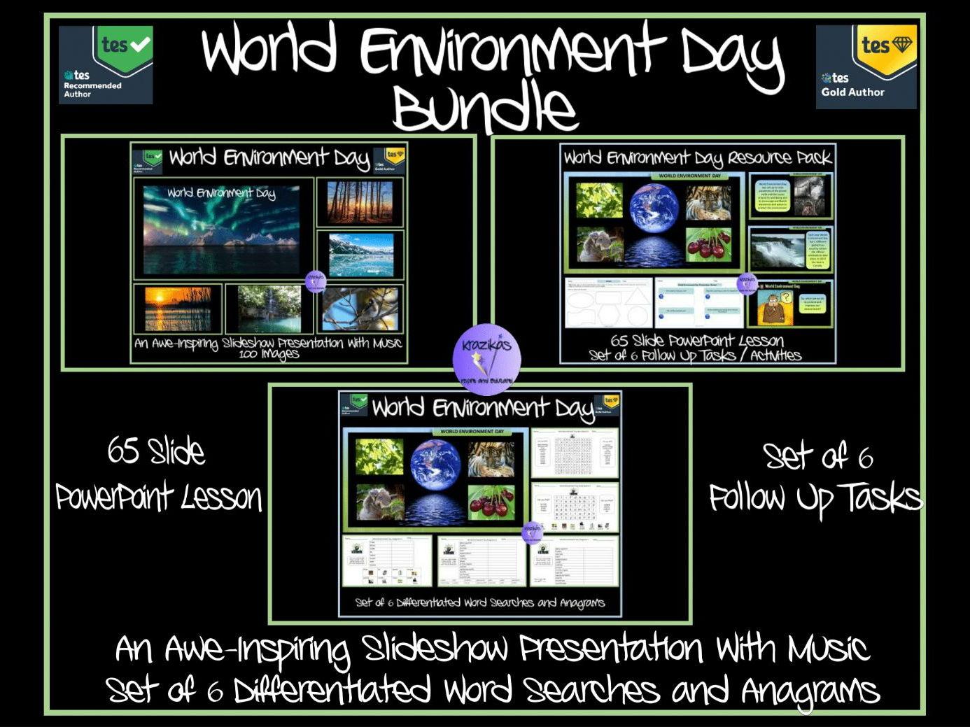 World Environment Resource Day/Week  Bundle