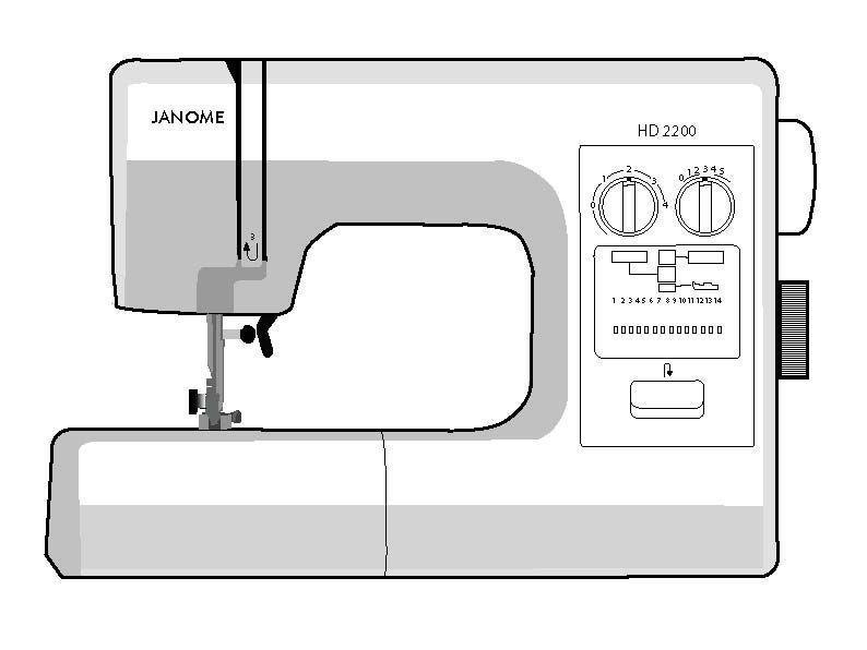 Janome HD 2200 image