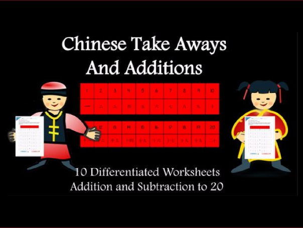 Chinese Take Aways and Additions! Chinese New Year Maths Resource