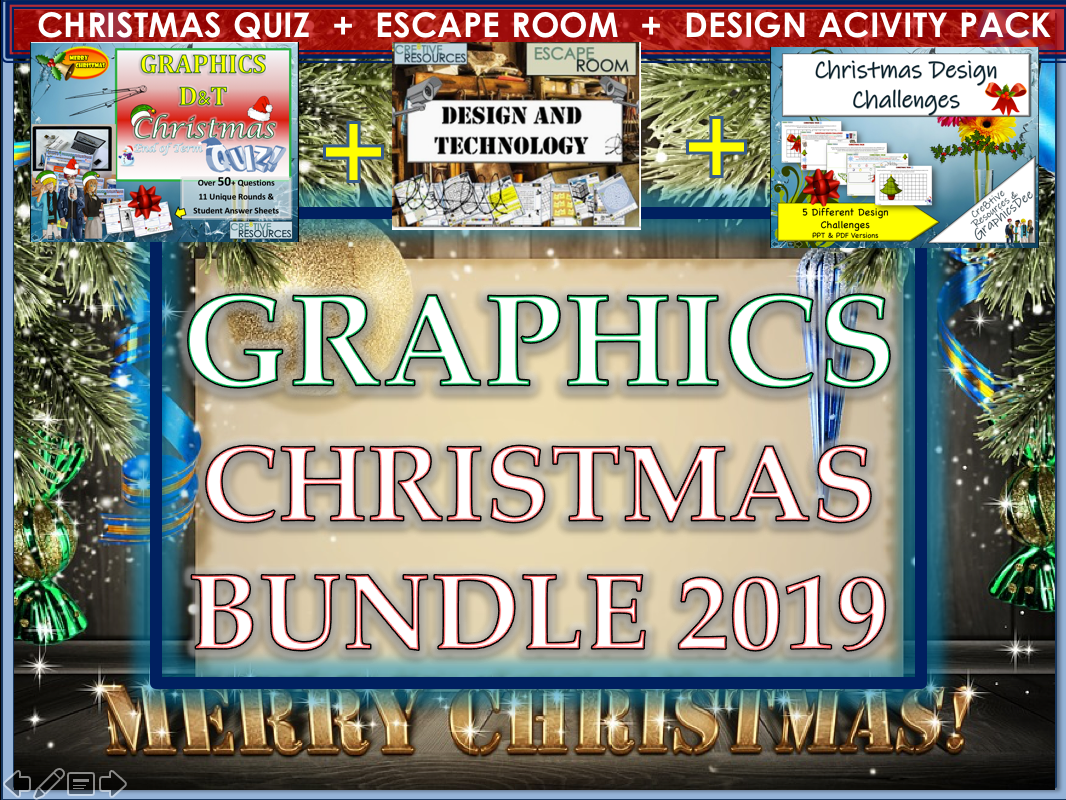 Graphics D&T Christmas 2019 Bundle