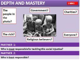 AQA RS HUMAN RIGHTS: SOCIAL JUSTICE (Christianity and Islam)