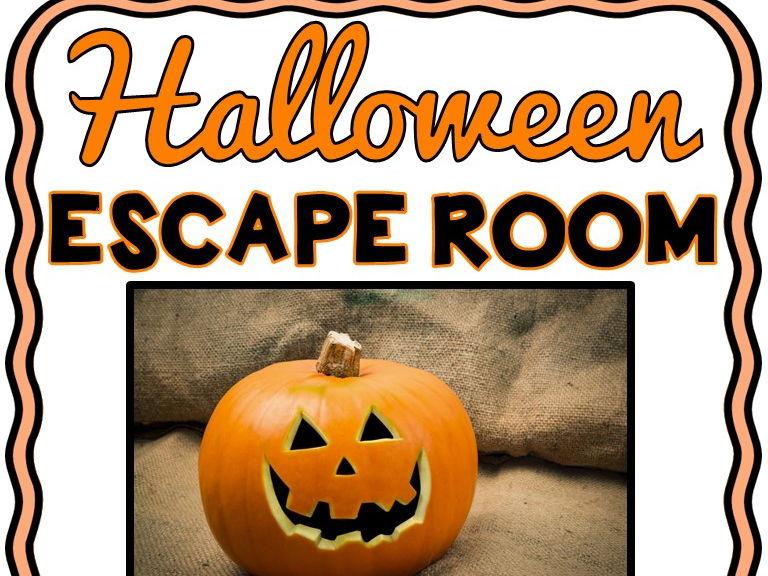 Halloween Escape Room - No Prep!