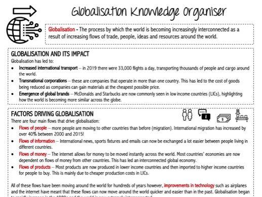 Globalisation KS3 SOW