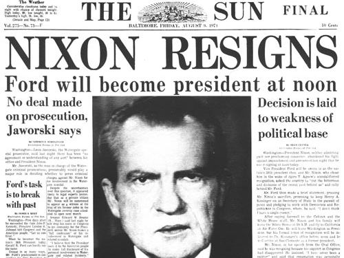 an examination of the water gate scandal in the united states Free essay: the watergate scandal and the resignation of president richard nixon the watergate scandal and crisis that rocked the united states began on the.